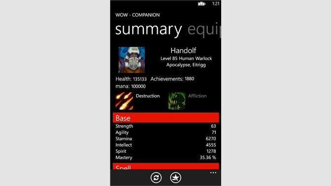 Get WoW - Companion - Microsoft Store