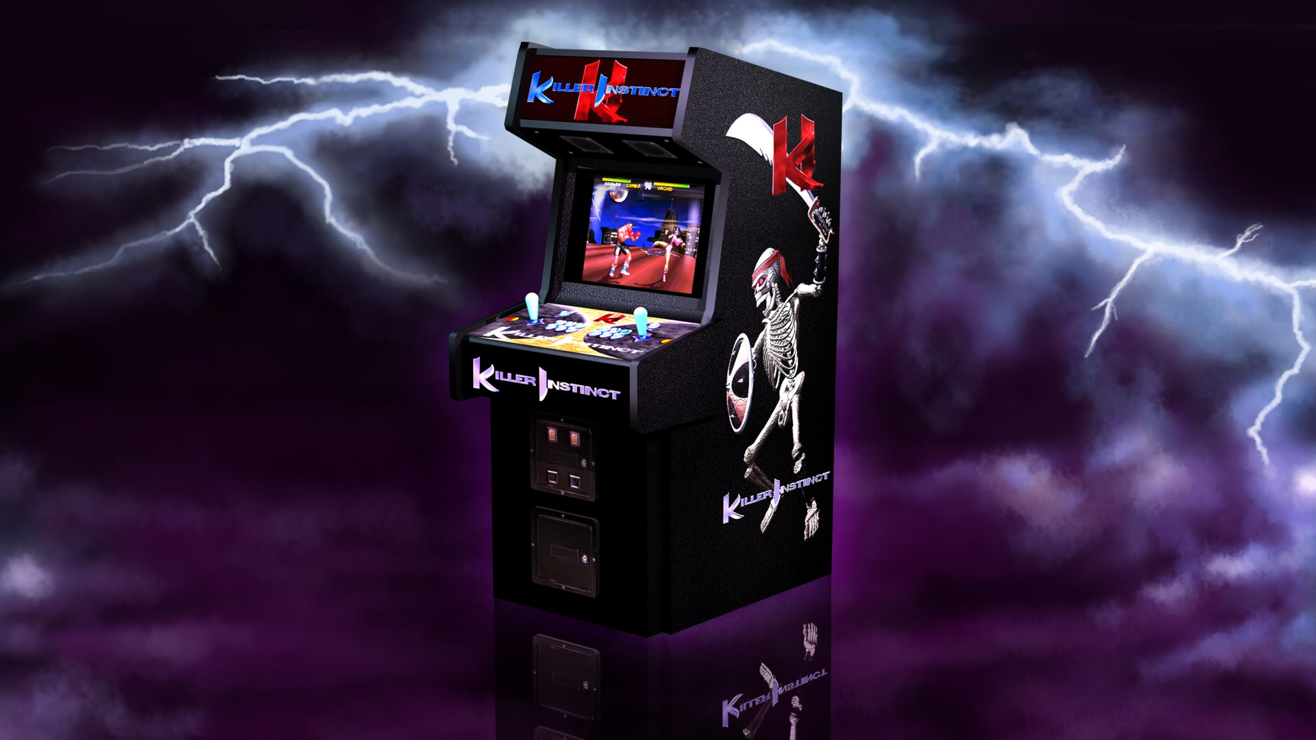 Image result for killer instinct arcade
