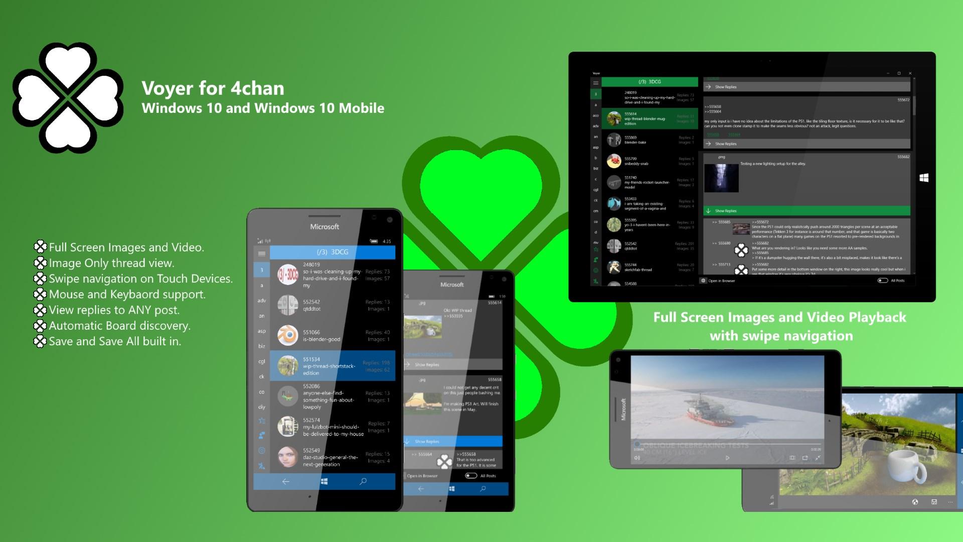 Get Voyer for 4chan - Microsoft Store en-TV