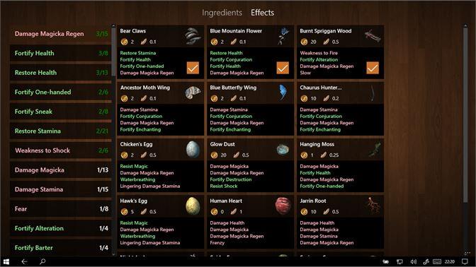 Get Skyrim Herbarium - Microsoft Store