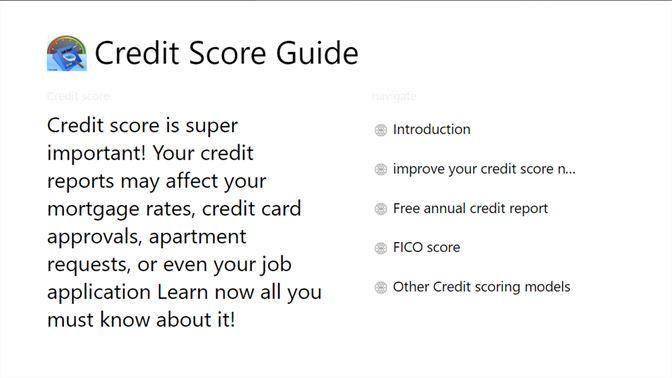 credit score guide を入手 microsoft store ja jp