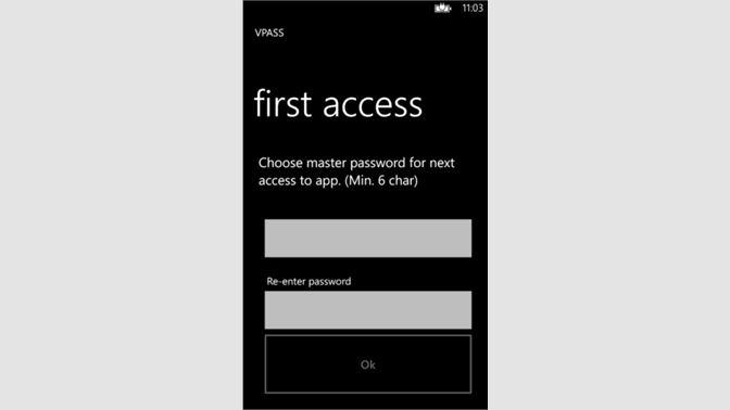 Get VPassword - Microsoft Store en-NZ