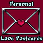 Personal Love Postcards