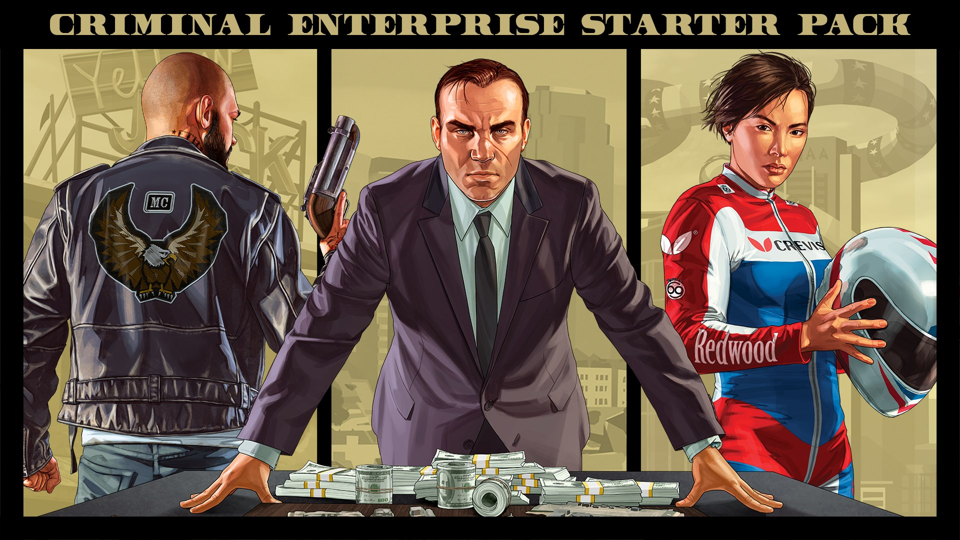 GTA Online: Criminal Enterprise Starter Pack