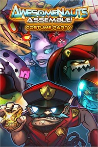 Carátula del juego Costume Party - Awesomenauts Assemble!
