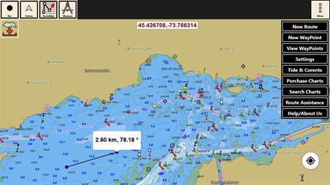 Buy IBoating USA GPS Nautical Marine Charts Offline Sea - Us lakes and rivers map