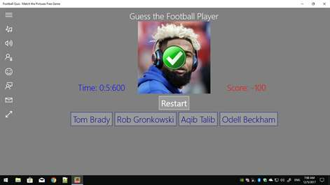 Football Quiz : Match the Pictures Free Game Screenshots 2