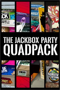 Carátula del juego The Jackbox Party Quadpack para Xbox One