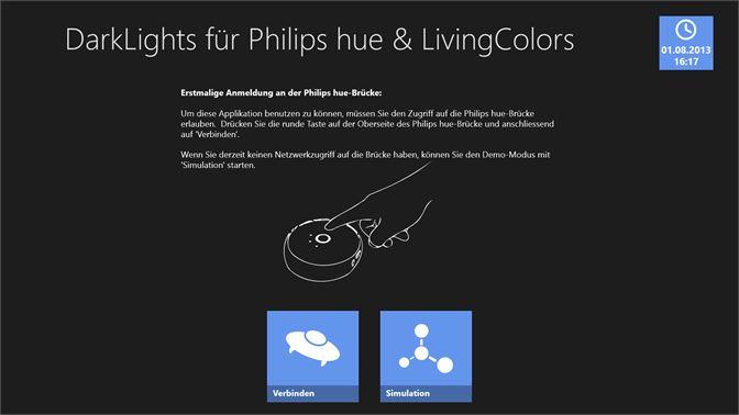 Starten Philips Hue : Darklights beziehen u2013 microsoft store de de