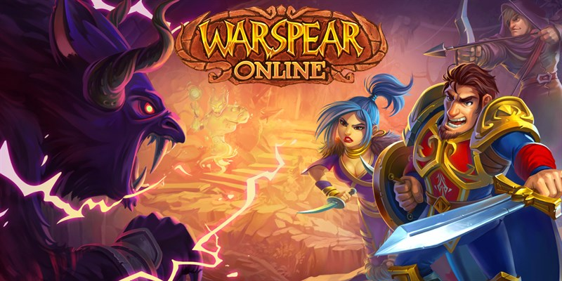 Get Warspear Online MMO RPG - free role playing game
