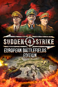 Carátula del juego Sudden Strike 4 - European Battlefields Edition