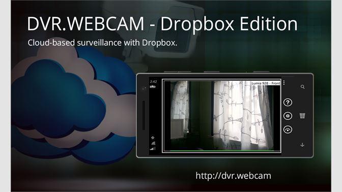 Buy DVR Webcam - Dropbox Edition - Microsoft Store