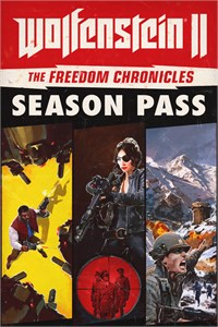 Carátula para el juego Wolfenstein II: The Freedom Chronicles Season Pass de Xbox 360
