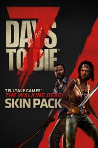 Carátula del juego 7 Days to Die - The Walking Dead Skin Pack
