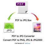 PDF to JPG Converter - Convert PDF to PNG, JPG & JPG2000 Logo