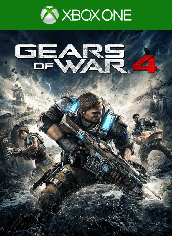 Gears of War 4-coverbilde
