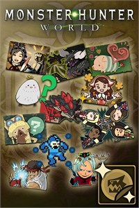 Carátula del juego Monster Hunter: World - Complete Sticker Pack