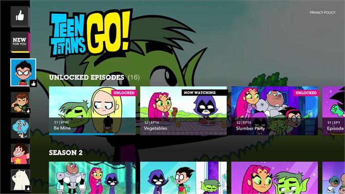 Get Cartoon Network Microsoft Store