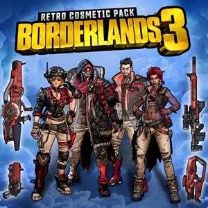 Borderlands 3 Retro Cosmetic Pack Xbox One