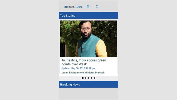 Get The Hindu Newspaper - Microsoft Store