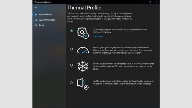 Thermal Profile