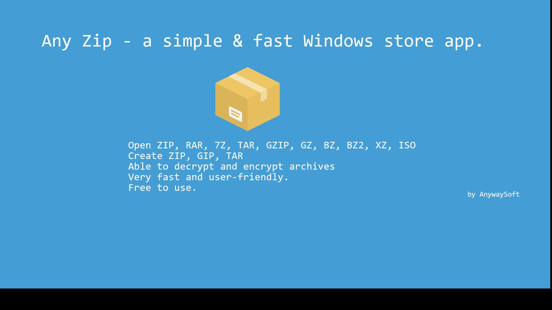 Get Any Zip: open rar, zip extractor & archiver - Microsoft Store