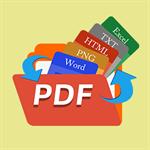 Coolle PDF Converter: Batch Converter, PDF to DOCX, DOC, XLSX, TXT, HTML, PPT, PNG, JPEG And Office to PDF Logo