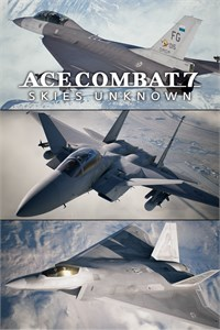 ACE COMBAT 7: SKIES UNKNOWN - DLC de 25 Anos - Série de Aeronaves Experimentais - Conjunto
