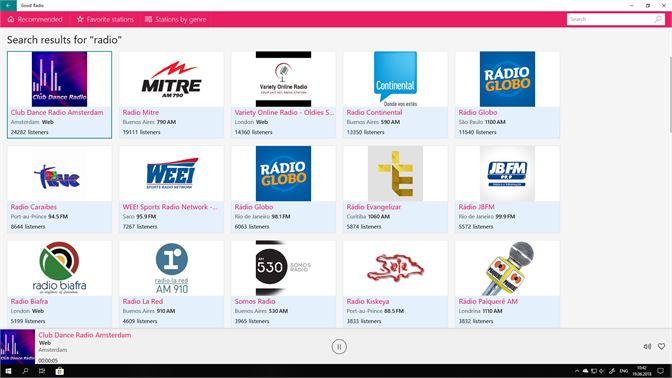 Get Online Radio - Free Live FM AM - Microsoft Store
