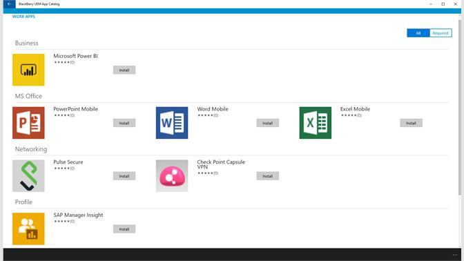 Get BlackBerry UEM App Catalog - Microsoft Store xh-ZA