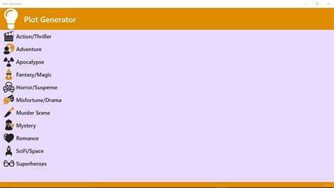 Plot Generator Screenshots 1