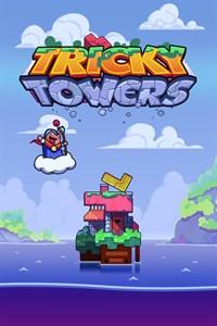 Carátula para el juego Tricky Towers de Xbox 360