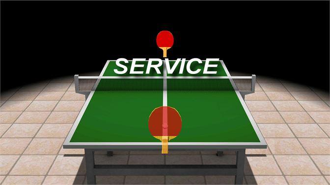 tennis vs ping pong