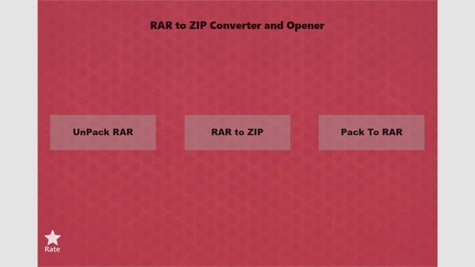 Get RAR to ZIP Converter & Opener - Microsoft Store