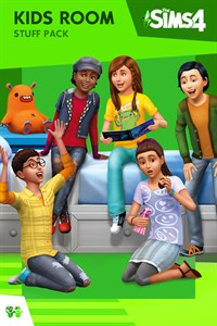 Carátula del juego The Sims 4 Kids Room Stuff