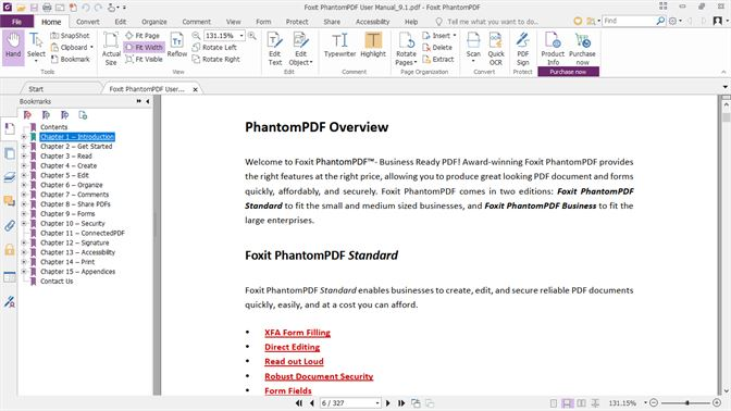 foxit phantompdf 9 review