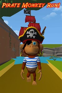 Pirate Monkey Run!