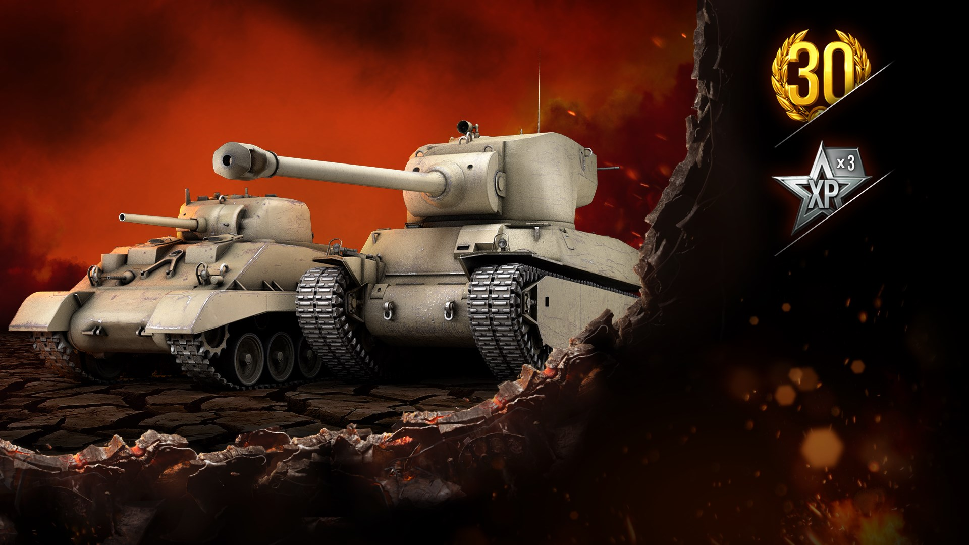 PAINGODs Auswahl: Mutant 6 and M4A2E4 Sherman
