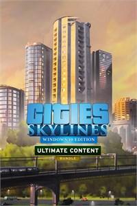 Cities: Skylines - Ultimate Content Bundle (Win 10)