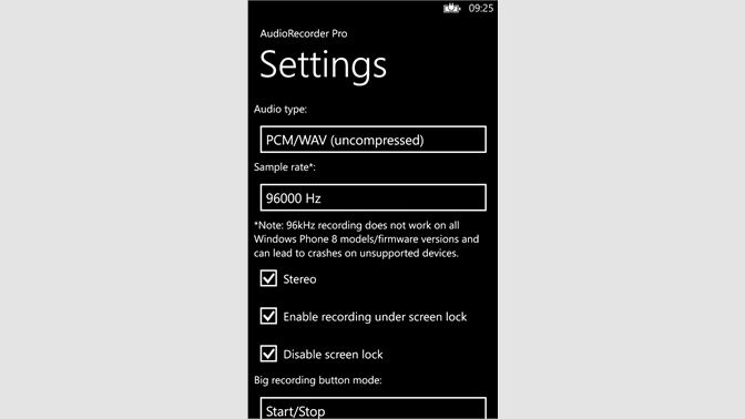 Buy Audio Recorder Pro - Microsoft Store