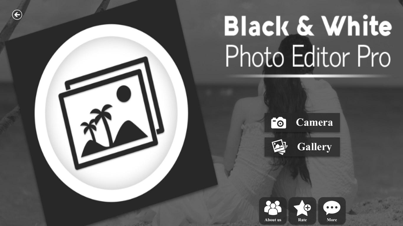 Black and White Photo Editor Pro