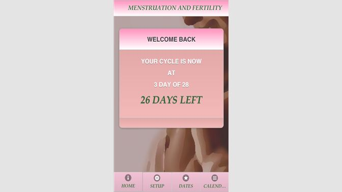 Get Menstruation And Fertility - Free - Microsoft Store
