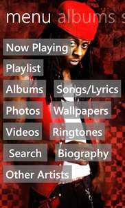 Lil Wayne Musics screenshot 1