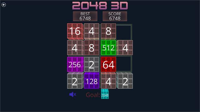 Get 2048 3D - Microsoft Store