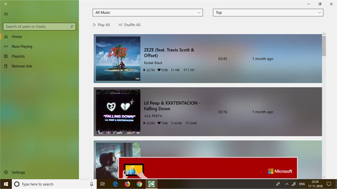 Get Cloud of Music - Microsoft Store