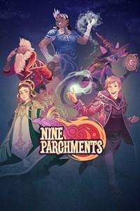 Carátula para el juego Nine Parchments de Xbox 360
