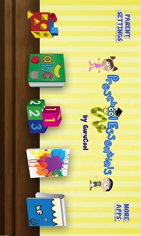 Pre School Essentials by GuruCool Screenshots 1