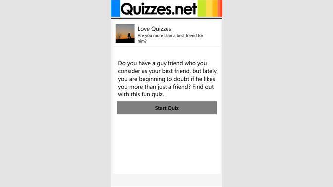 Get Quizzes - Microsoft Store