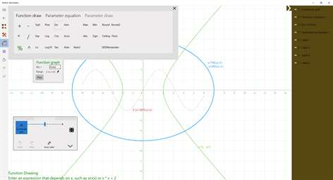 Get active geometry microsoft store screenshot hyperbola by equationfunction draw and parameter equation ccuart Image collections