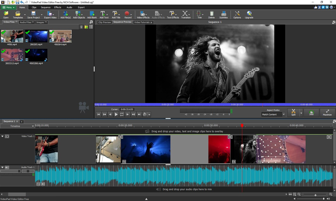 VideoPad Video Editor Free – (Windows Apps) — AppAgg